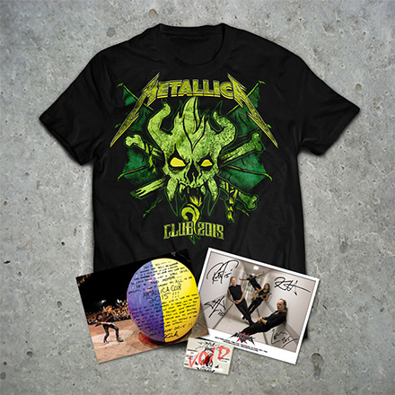 Metallica 2015 Membership package